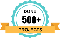 Done 500+ Projects